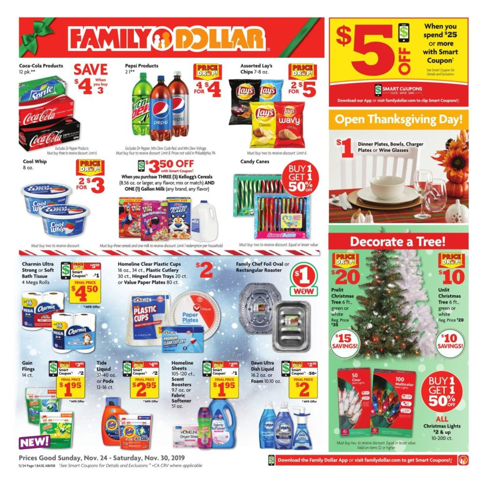 Family Dollar Black Friday page 1